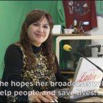 Reportaje realizado por la NHK a nuestra directora