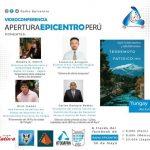 Videoconferencia Sobre Prevención de Desastres: Apertura Epicentro Perú