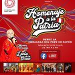 """Homenaje a la Patria"" Livestream event"