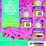 10mo. CONCURSO DE DIBUJO INFANTIL KYODAI  TEMA: «Lo que me gusta hacer en casa»