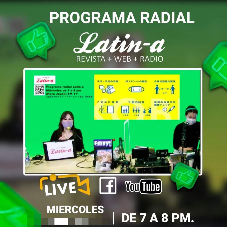 Programa radial Latin-a: miércoles 13